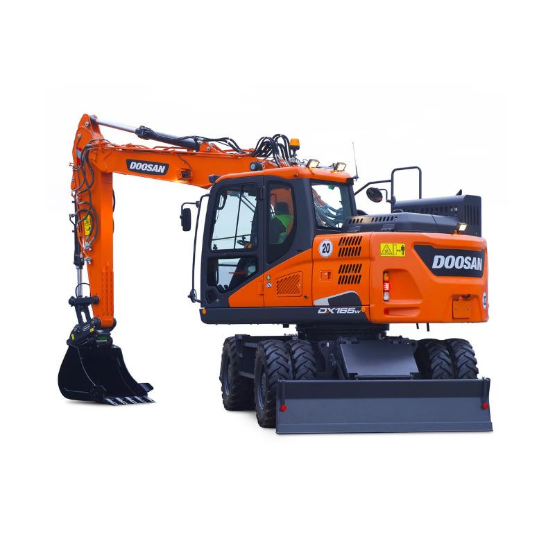 doosan wheeled excavator