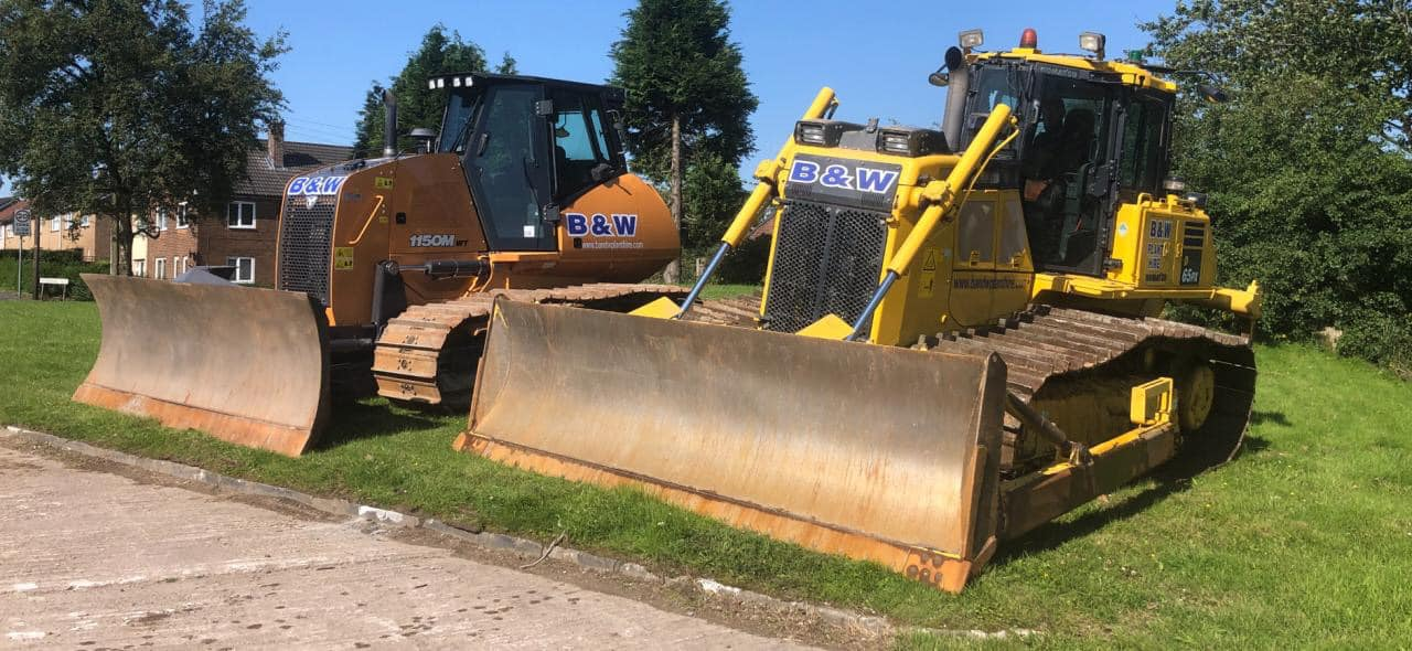 B and w plant hire ltd dozers