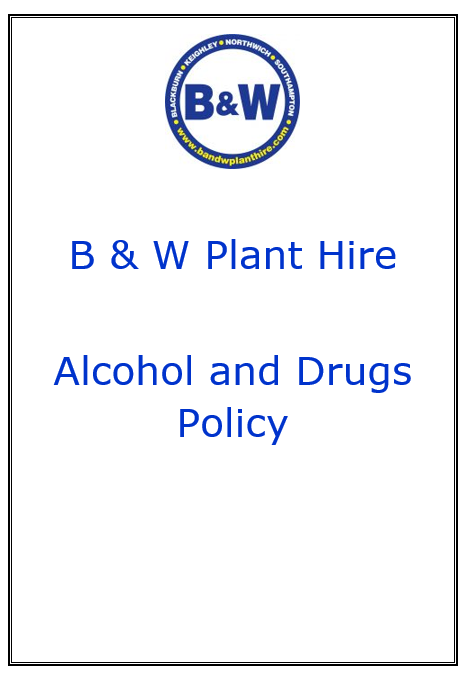 B&W alcohol and drugs policy