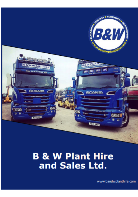 B&W plant Hire Ltd bro