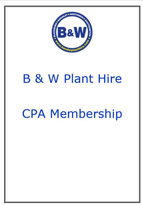 B & W CPA membership