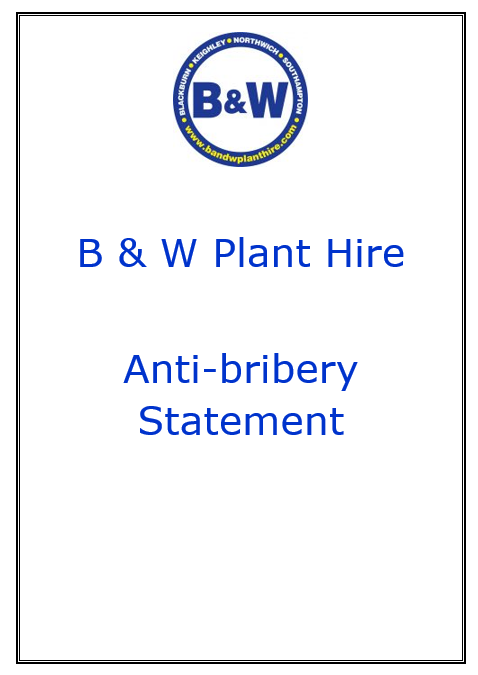 anti-bribery Statement