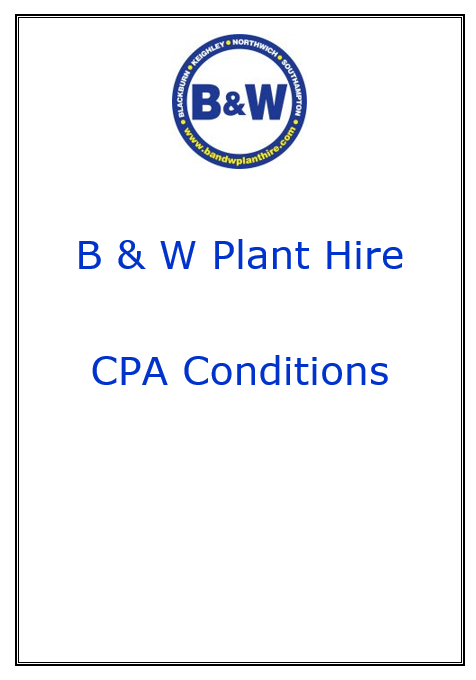 B & W CPA Conditions