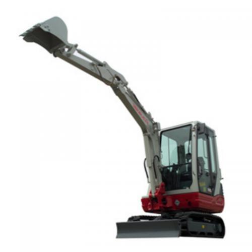 3T excavator