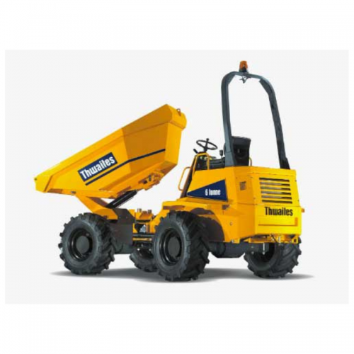 6t swivel dumper