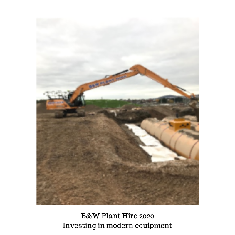 B&W plant hire investing in new equipment 2020